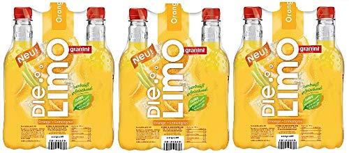 18 Flaschen Granini Die Limo Orange-Lemongras a (18x0,5 L) inc. EINWEG Pfand