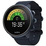 Suunto 9 Baro Reloj deportivo GPS con batería de larga duración y medición de frecuencia cardiaca en la muñeca, Sin correa de pecho, Azul Titanium