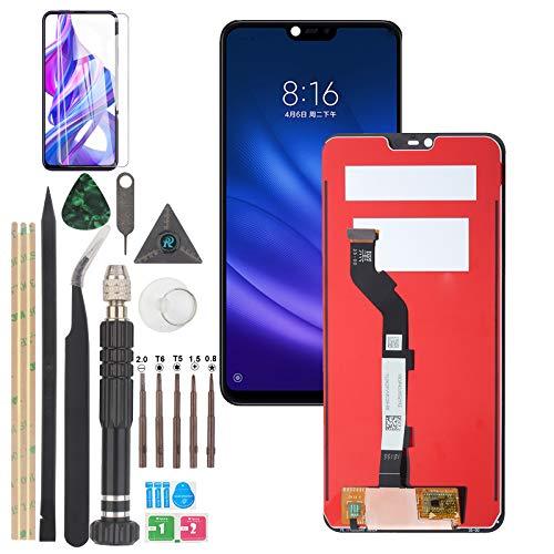 YWL-OU Reemplazo de la pantalla para Xiaomi Mi 8 Lite /Mi 8 Youth /Mi 8X LCD Pantalla Táctil Digitalizador con una serie de herramientas prácticas