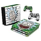 Skin Adesivo para PS4 Pro - Rick Rick And Morty