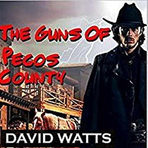 The Guns of Pecos County audiobook cover art