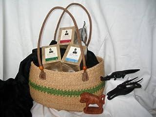 """Animal Lover"" Gift Basket By Zawadi African Tea"