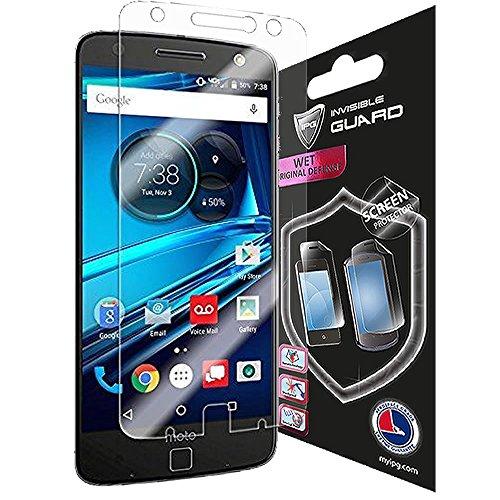 Für Motorola Lenovo Moto Z Droid und Force Display Schutz unsichtbar Handy Cover Protector Ultra HD Klar Folie Haut Kostenloser von IPG