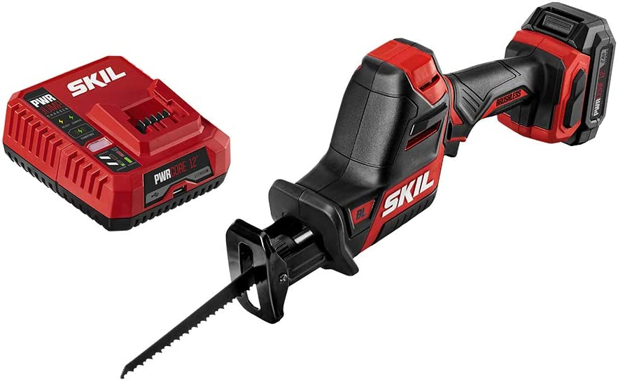 SKIL PWRCore 12 Nippon regular agency Brushless NEW before selling ☆ 12V Include Compact Saw Reciprocating