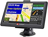 Car GPS Navigation, 7 Inch GPS Navigation for Car Vehicle System 8G Memory Portable Truck Navigator Touch Screen Multimedia Pre-Installed North America