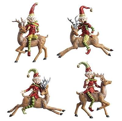 "RAZ Imports - 5"" Elf Ornaments"
