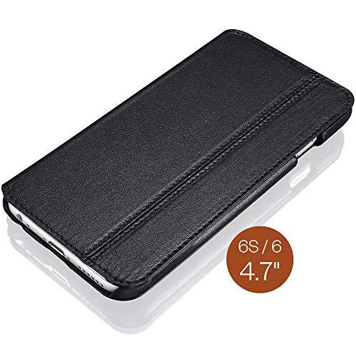 KAVAJ Lederhülle Dallas geeignet für Apple iPhone 6S & 6 4.7