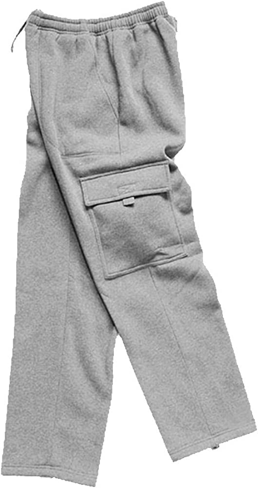 Woodland Supply Co. Men's Fleece Pants Cargo 67% OFF of fixed price Pocket outlet