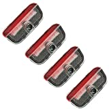4pcs Fit for VW Car LED Door Warning Light Welcome Logo Projector For VW Passat B6 B7 CC Golf 6 7 MK5 MK6...