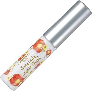 キャンメイク ジューシーレディリキッドチーク02 マンゴーオレンジ 4g
