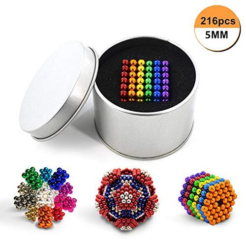 QUCHENG 216 y 5 mm para Placas magnéticas, pizarras Blancas, refrigeradores, soluciones...