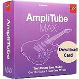 IK Multimedia AmpliTube MAX for Windows and Mac - The Ultimate Guitar and Bass Tone Studio (Download Card)