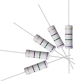 Multi-Colour 300-Piece Sourcingmap 470 Ohm 1//4 W 1 Percent Tolerance Axial Lead Metal Film Resistor