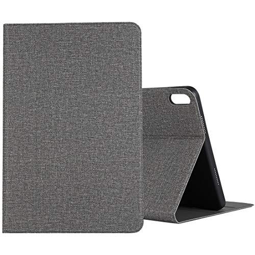BEIJING  PROTECTIVECOVER+ / for Compatible with Huawei Matepad 10.4 Paño TPU Funda Protectora con Titular, Fashion Phone Funda para Protector (Color : Grey)