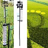 WBMKH Jardín Estación meteorológica al Aire Libre Medidor meteorológico Herramienta de Paleta Viento Medidor de Lluvia