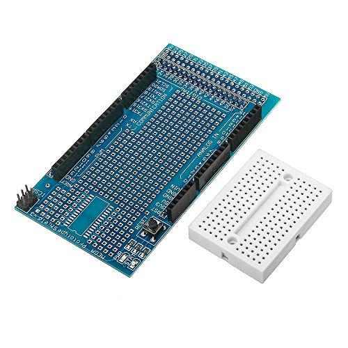 Ils - Mega2560 1280 Protoshield V3 Carte Extension avec Breadboard pour Arduino