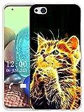 Sunrive Hülle Kompatibel mit ZTE Nubia Z9 Max Silikon, Transparent Handyhülle Schutzhülle Etui Hülle (X Katze)+Gratis Universal Eingabestift MEHRWEG