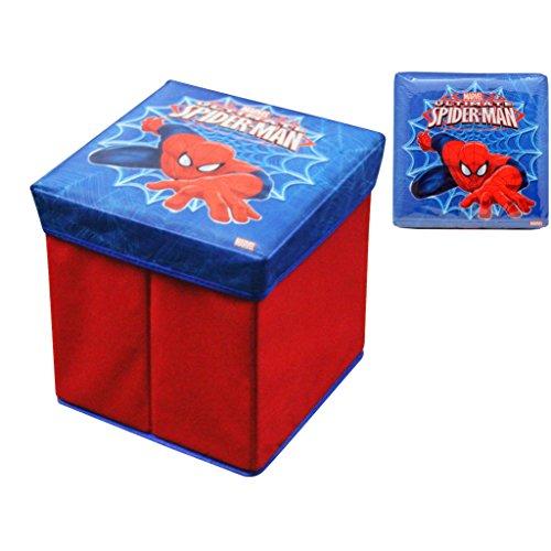 Spiderman Pouf rembourré 32 x 32 x 32 cm
