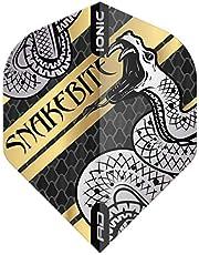 RED DRAGON Snakebite Hardcore Gerolde Snake Dart Vluchten - 3 sets per Pack (9 Dart vluchten in totaal)