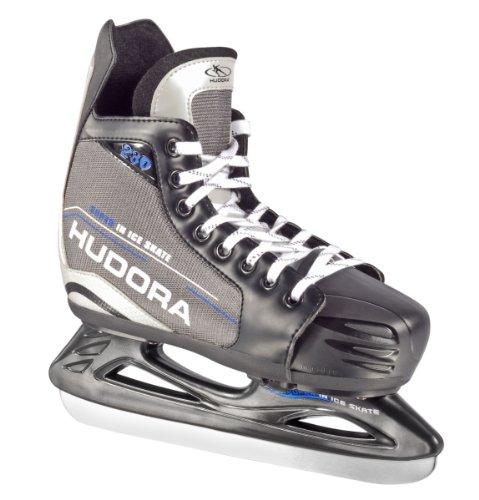 HUDORA Eishockey-Schuhe verstellbar, Gr. 36 - 39 - Schlittschuhe Eishockey - 44622
