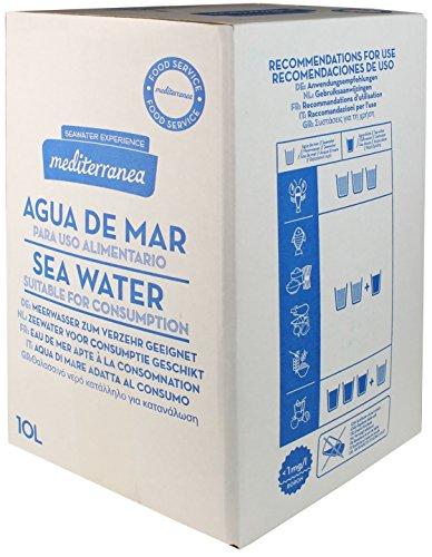 Mediterranea Eau de mer filtrée usage alimentaire en récipient de 10 litres
