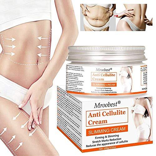 Slimming Cream, Hot Cream, Anti Cellulite Cream, Organic Body Slimming Cream, Natural Cellulite Treatment Cream for Thighs, Legs, Abdomen, Arms and Buttocks, for Body Sculpting
