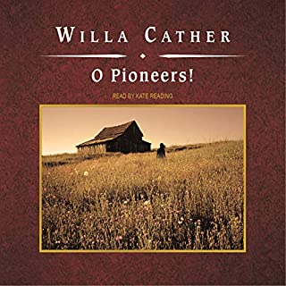 O Pioneers!                   By:                                                                                                                                 Willa Cather                               Narrated by:                                                                                                                                 Kate Reading,                                                                                        Ken Burns (introduction)                      Length: 5 hrs and 59 mins     5 ratings     Overall 4.6