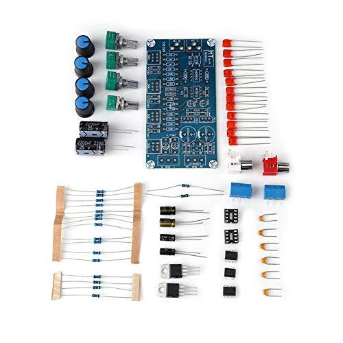NE5532 Stereo Preamplifier Volume Control Board with Treble Midrange and Bass Tone Controls DIY Kit Preamp Module
