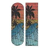 NOT HANZHY Surf Beach Skateboard Grip Tape Bubble Free Skateboard Griptape Sheet Easy to Apply Longboard Grip Tape Anti Slip Sand Paper Tape for Boys Girls Teens