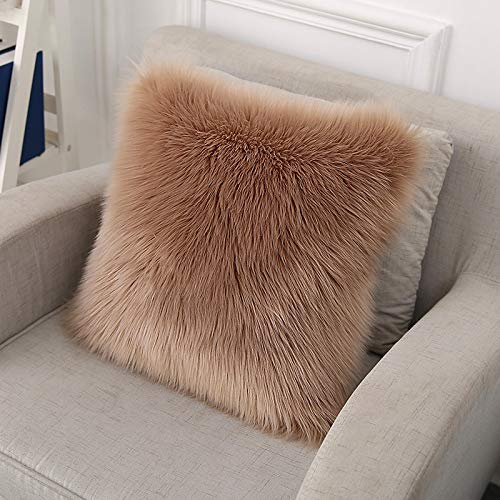 QZXCD Sofakussen met sierkussen van wol voor kussens