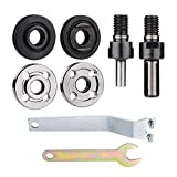 JIZZU 8PCS Connecting Rods Converter Set, Pin Spanner per Accoppiatore d'albero di Smerigliatrice Angolare, Conversion Rod di Trapano Elettrico a Mano, Connecting Adapter per Disco Metallico di Taglio