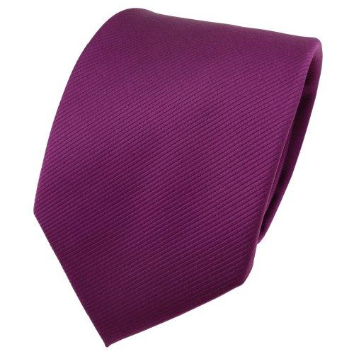 TigerTie - Corbata - magenta fuchsia violeta monocromo Rips