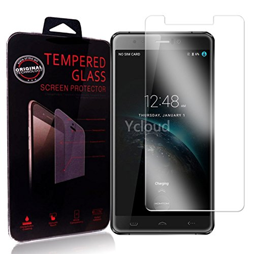 Ycloud Panzerglas Folie Schutzfolie Bildschirmschutzfolie für Homtom HT10 screen protector mit Festigkeitgrad 9H, 0,26mm Ultra-Dünn, Abger&ete Kanten
