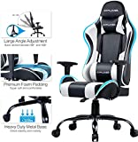 GTPLAYER Gaming Chair Office Desk Chair Swivel Heavy Duty Chair Ergonomic Design