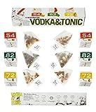 Set de regalo Vodka Tonic - 6 infusiones paquete con 3 sabores diferentes. Caja de regalo perfecta para cualquier amante de Vodka Tonic Cocktail