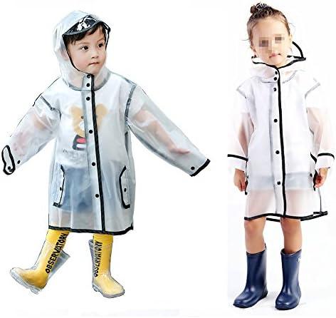 Gigabit Kids Raincoat Clean Rain Coat Jacket Poncho for Boys Girls product image