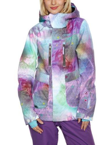 O'Neill Damen Jacke Freedom XL weiß (White AOP)