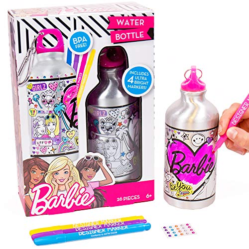 Barbie by Horizon Group USA Water Bottle, Assorted