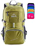 Venture Pal Lightweight Packable Durable Travel Hiking Backpack Daypack (Green)