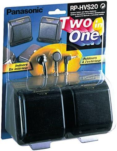 Panasonic RPHVS20 Portable Speakers and Cheap bargain Pack Finally resale start Earbud Disc Bundle