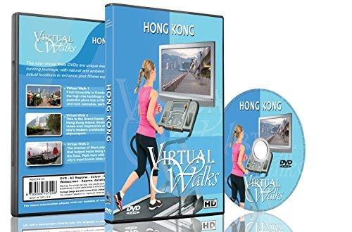Virtual Walks - Hong Kong for indoor walking, treadmill and cycling workouts