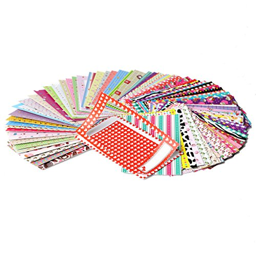 Kodak Colorful, Fun & Decorative Photo Border Stickers for 2x3 Photo Paper (Printomatic, Mini Shot, Mini 2) - Pack of 100