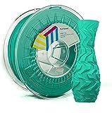 Eolas Prints   Filamento PLA 1.75   Impresora 3D   Fabricado en España   Apto para uso alimentario y crear juguetes y envases   1,75mm   1Kg   Agua Marina