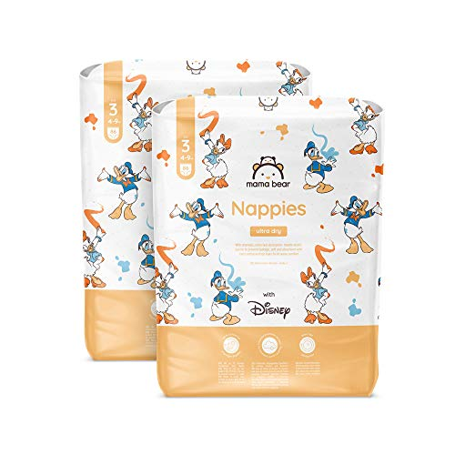 Mama Bear - Disney - 172 pannolini ultra-asciutti, taglia 3 (4-9 kg)