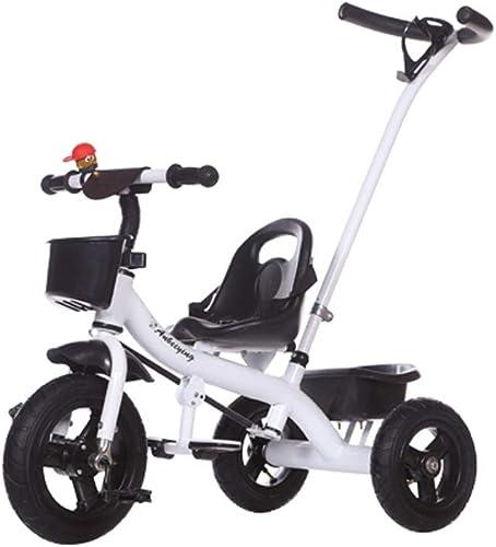 Kinder-Dreirad 2 in 1 m lichen und Weißichen Baby-fürrad-Licht-UpGröße-Mode-Modellen