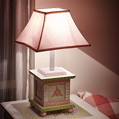 Fantasy Fields by Teamson tafellamp, roze crackled voor kinderen