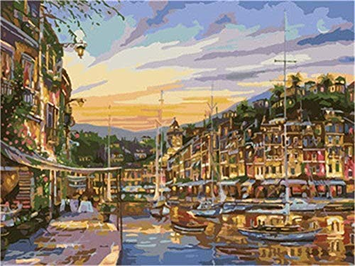 Jigsaw Puzzle 1000 Pieces of Wooden Puzzle Jigsaw children landscape wood adult art toy ornaments gift panorama mute water city