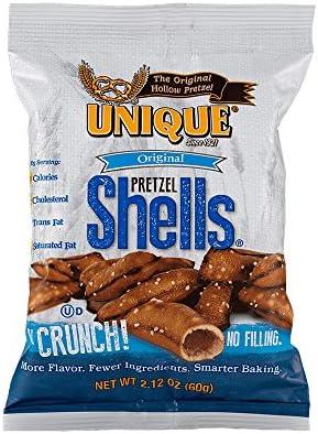 Unique Pretzels Original Pretzel Shells Homestyle Baked Vegan Certified OU Kosher and non GMO product image