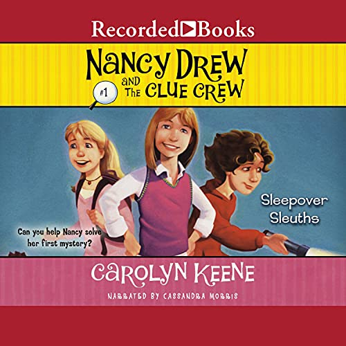 Sleepover Sleuths Audiobook By Carolyn Keene cover art