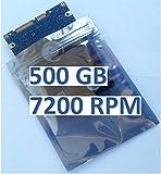 500GB Disco Duro 7200RPM, Accesorios alternativos, Adecuado para: ASUS A52JE Serie el portátil